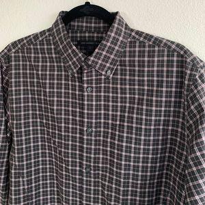 Robert Graham Terrell Long Sleeve Woven Shirt White